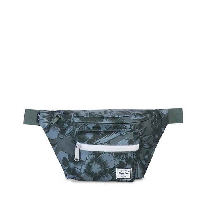 Herschel Seventeen Hip Pack - Jungle Floral Green
