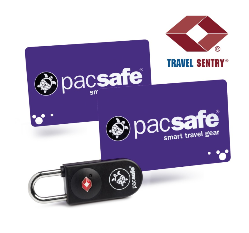 PACSAFE | Prosafe 750 TSA accepted key-card lock