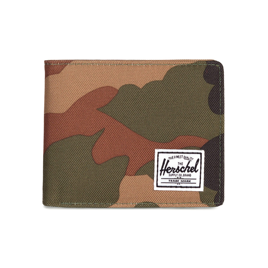 Herschel Roy Wallet - Woodland Camo / RFID