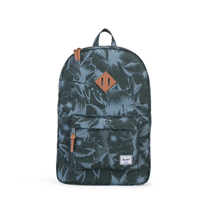 Herschel Heritage Backpack - Jungle Floral Green