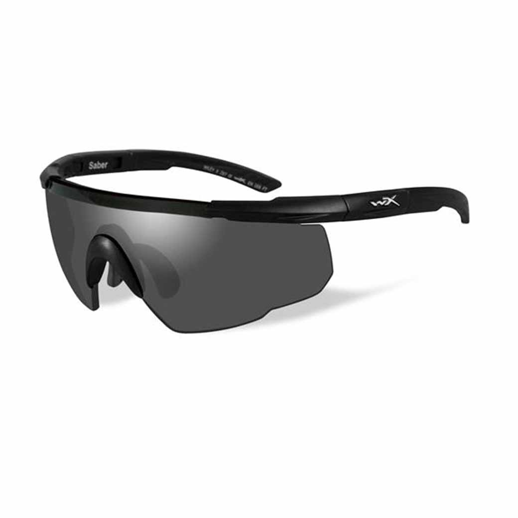 WileyX Saber Advanced - 1 Lens - Smoke Grey (Frame - Matte Black)