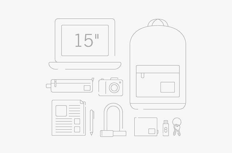 Herschel Pop Quiz Backpack - ขนาดกระเป๋า