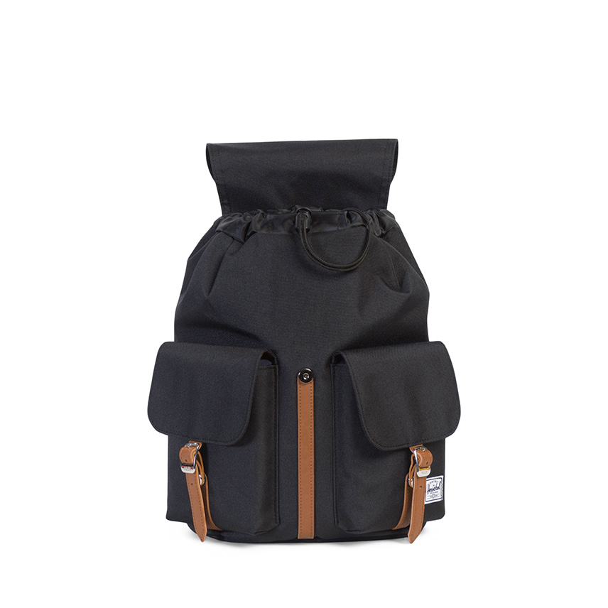 Herschel Dawson Backpack | XS - Black / Tan - ด้านใน