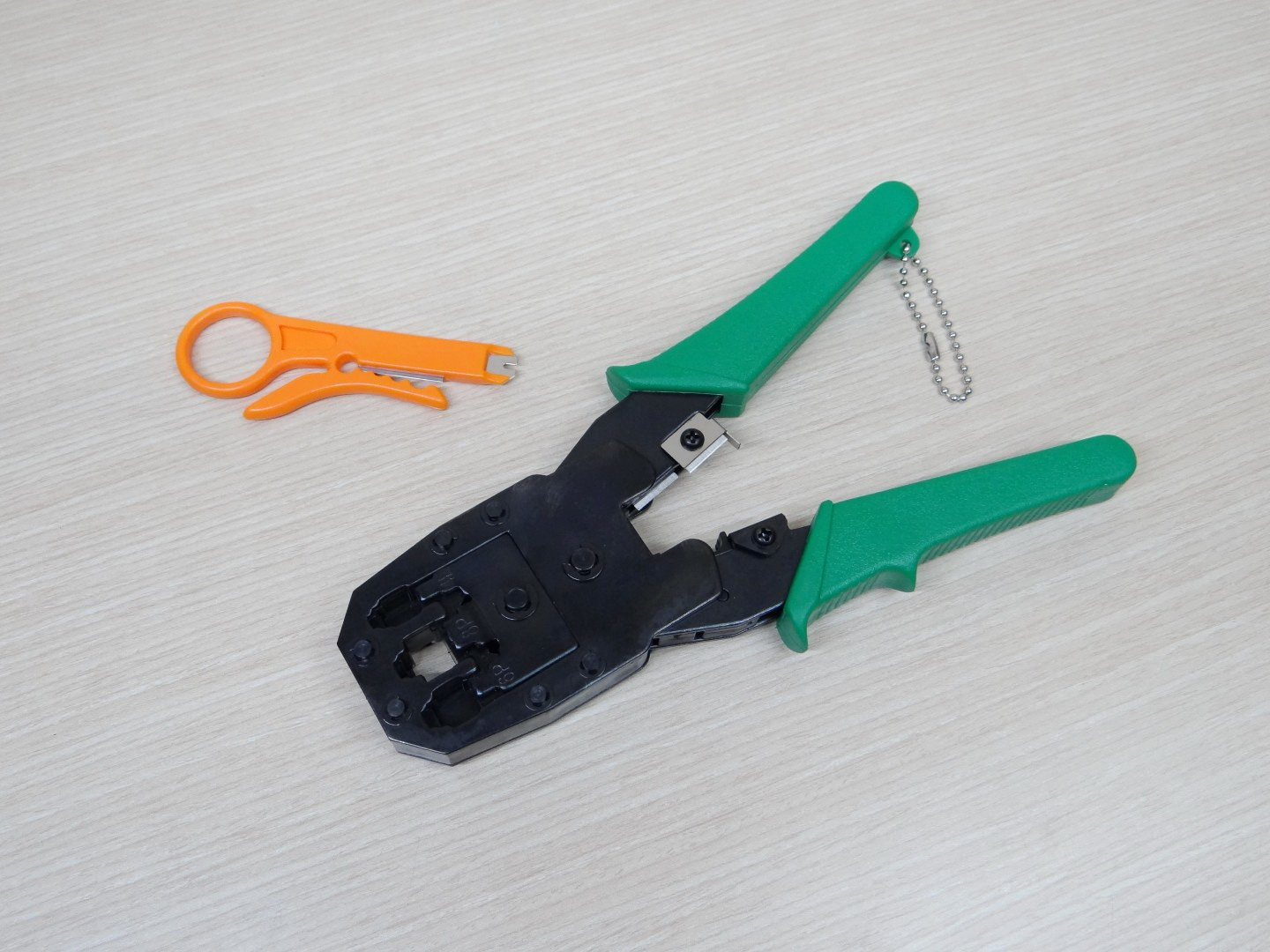 HT-315 Networking connector crimping pliers 4p 7.65mm / 6p 9.65mm / 8p 11.68mm