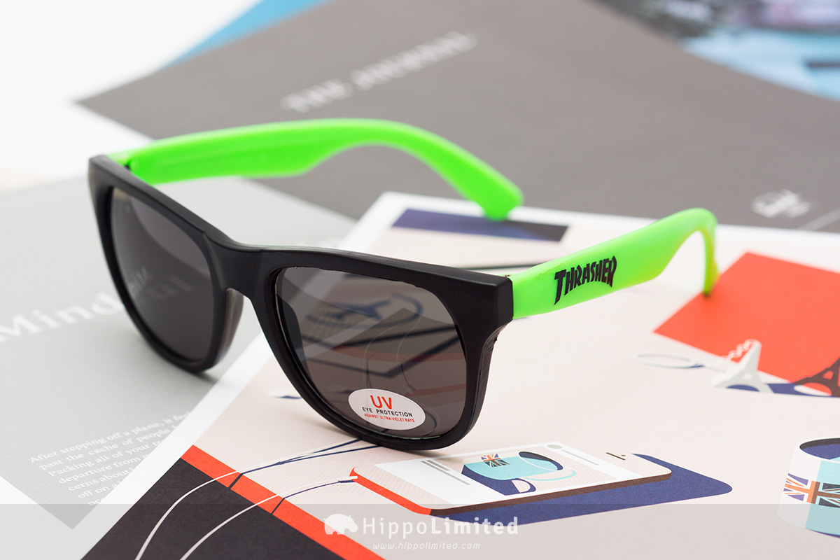 Thrasher Neon Green Sunglasses