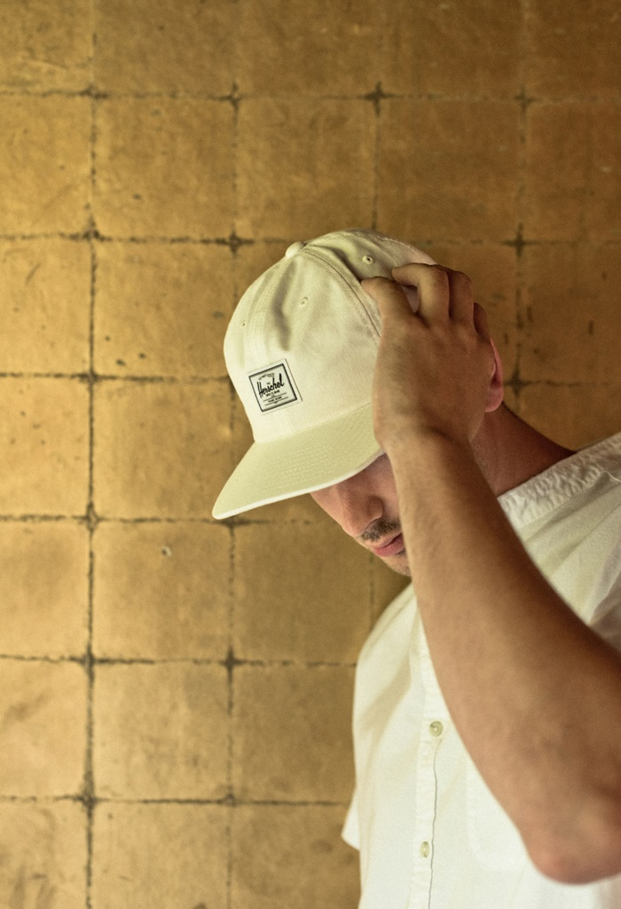 HERSCHEL ALBERT CAP - NATURAL ORGANIC COTTON