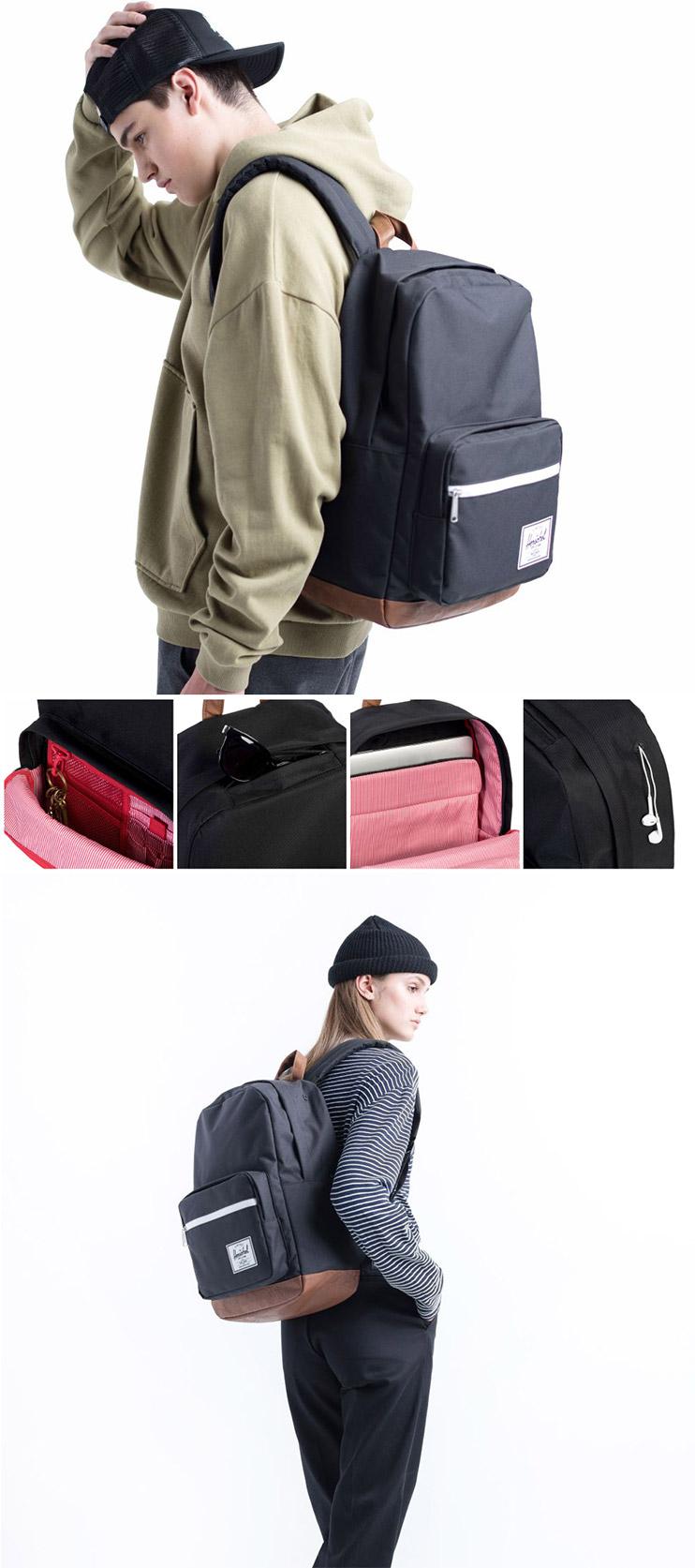 Herschel Pop Quiz Backpack - ตัวอย่างกระเป๋า