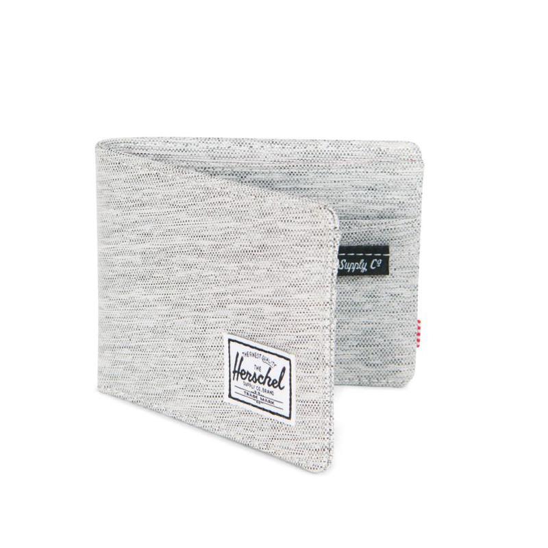 Herschel Roy Wallet - Light Grey Crosshatch