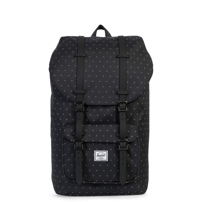 Herschel Little America - Black Gridlock