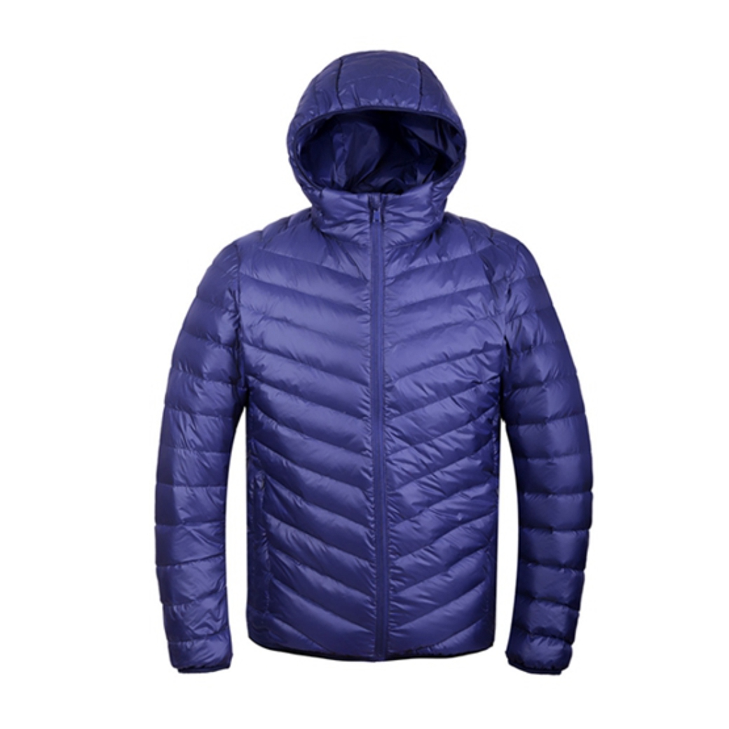 Ultra light down jacket for MEN สำหรับ 5-15 องศา - Navy