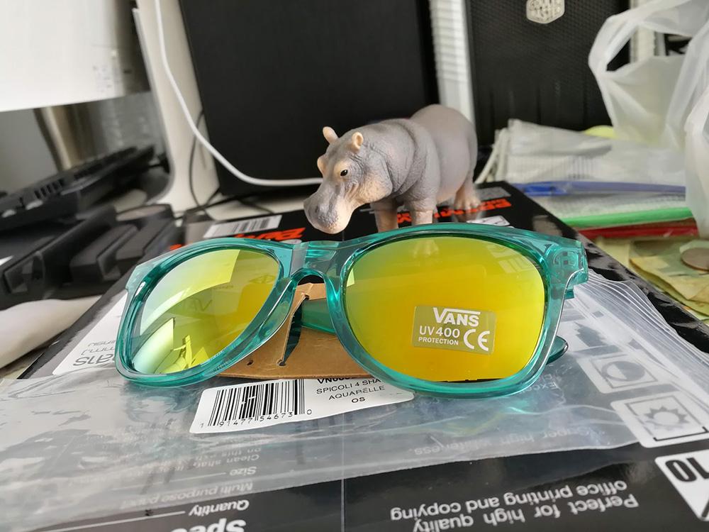 Vans Spicoli 4 Sunglasses - Aquarelle - ตัวแว่น
