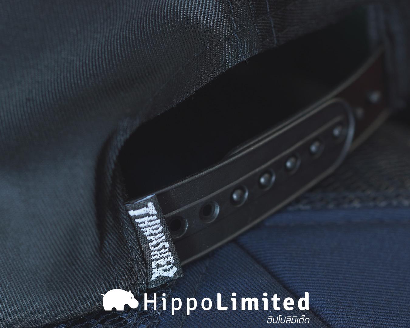 หมวก Thrasher Skate And Destroy Snapback - Black