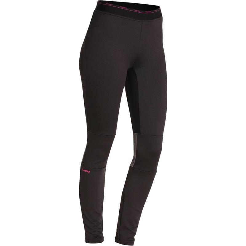 Wed'ze Women's Base Layer Trousers II - Black