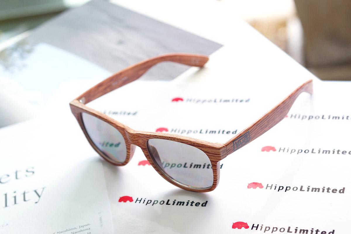 Vans Spicoli 4 Sunglasses - Oak Wood Grain