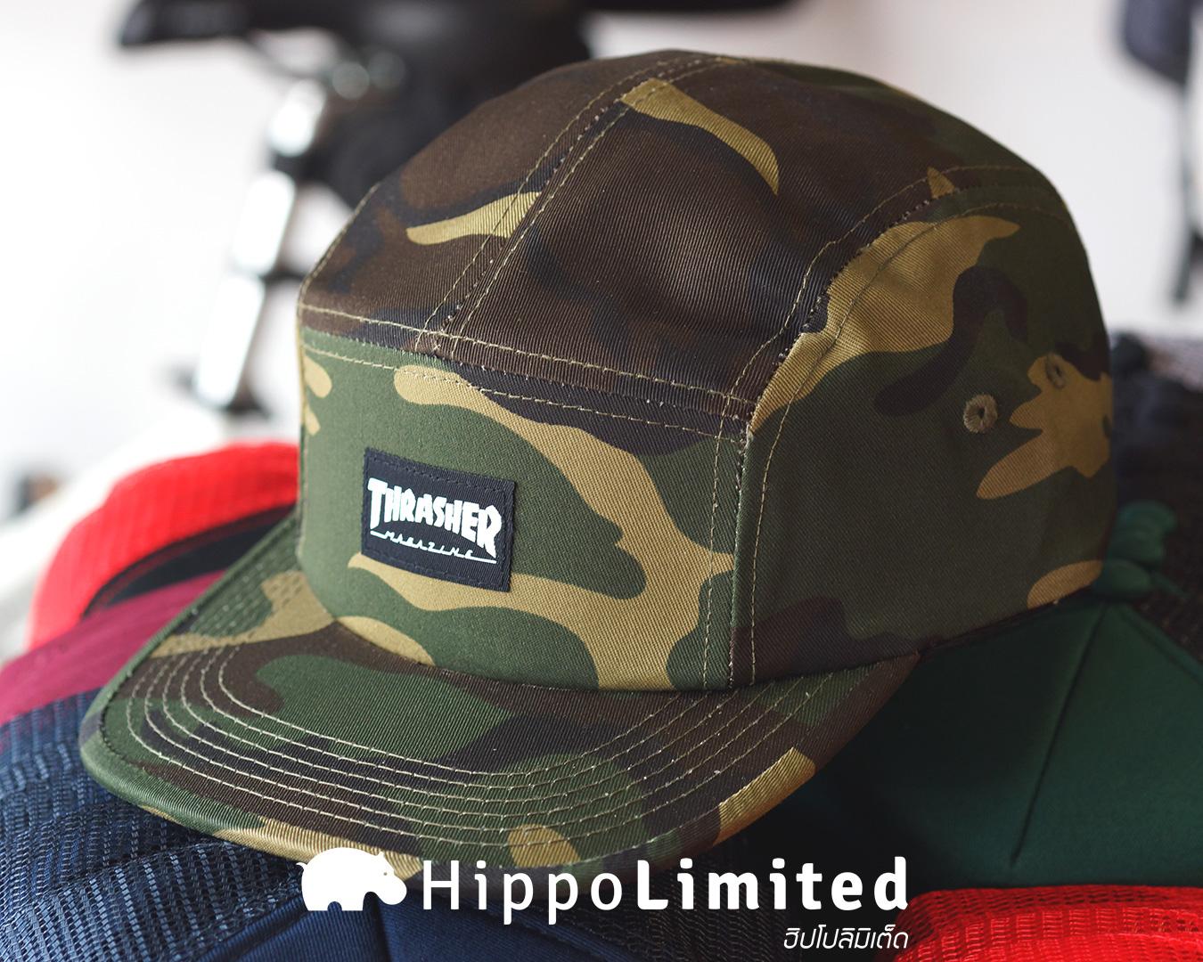 หมวก Thrasher 5 Panel Hat - Camo