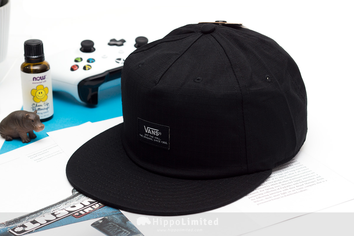 Vans Helms Unstructured Hat - Black