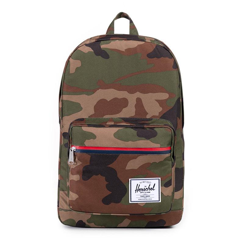 Herschel Pop Quiz Backpack - Woodland Camo / Multi Zip
