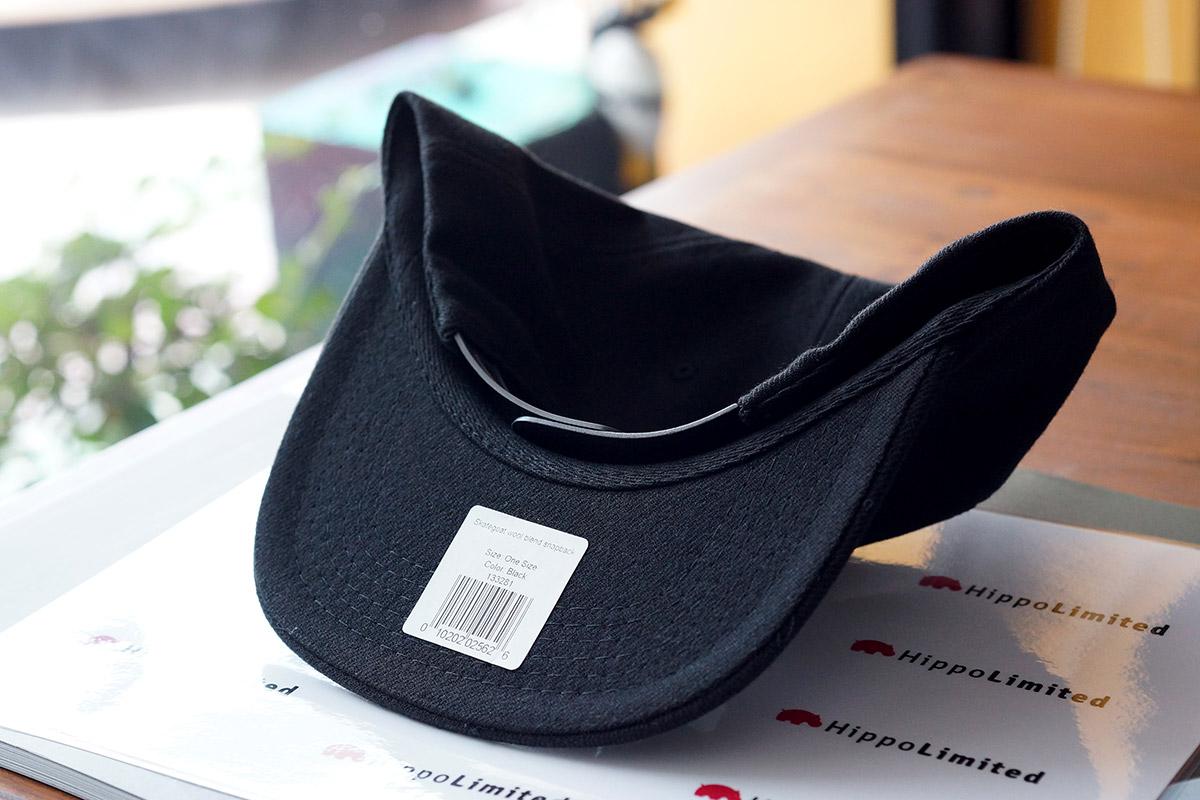 หมวก Thrasher Skategoat Wool Blend Snapback - Black / White
