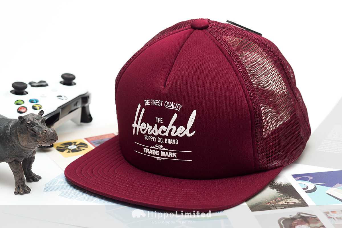Herschel Whaler Cap | Mesh - Windsor Wine