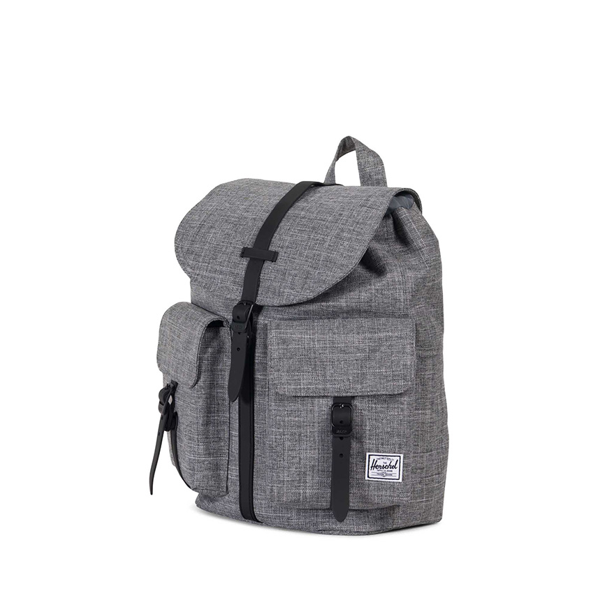 Herschel Dawson Backpack | XS - Raven Crosshatch / Black - ด้านข้าง