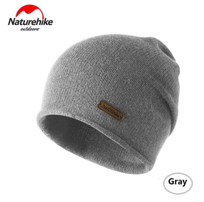 Nature Hike Wool beanie hat (Grey)