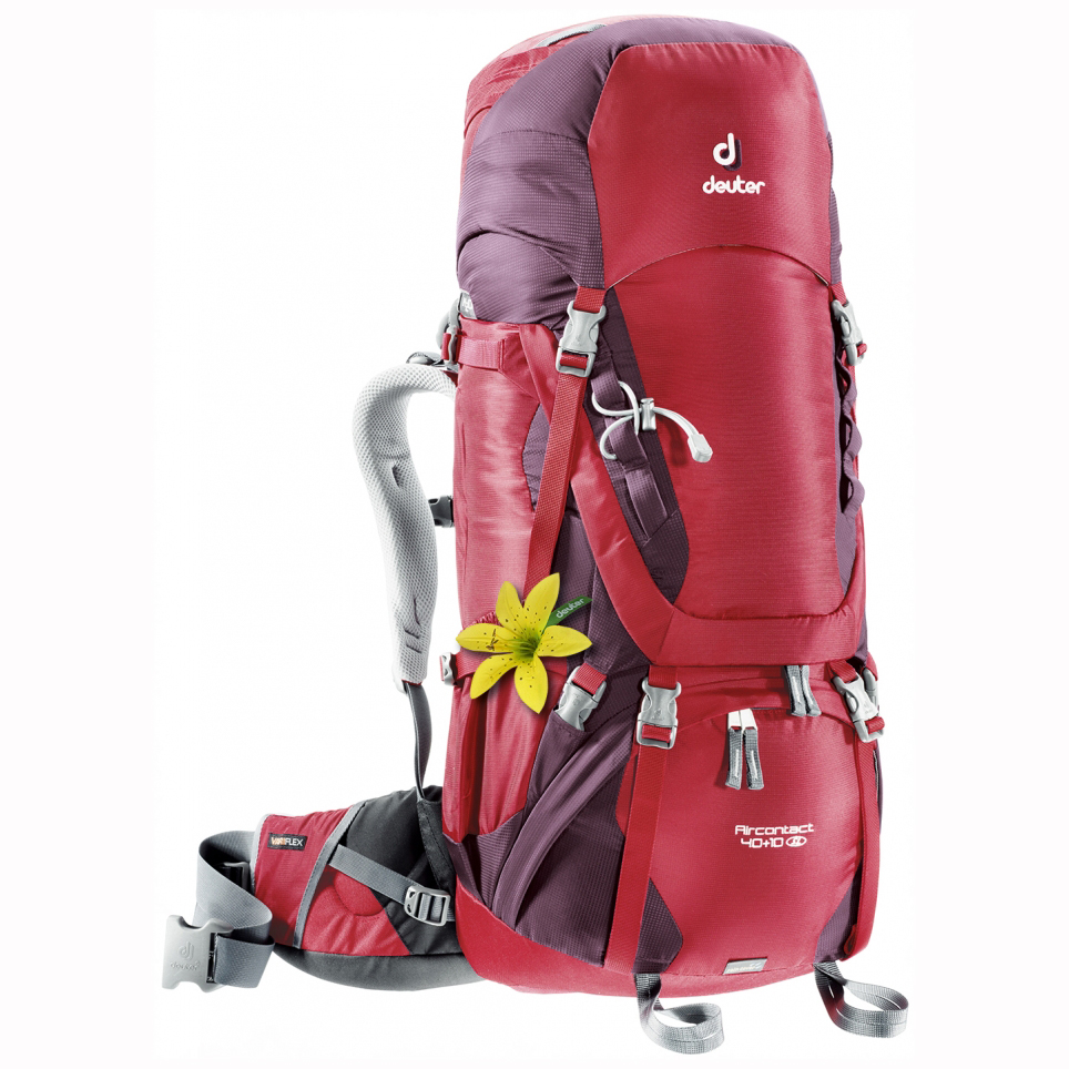 DEUTER Aircontact 40 + 10 SL cranberry-aubergine (red-purple)