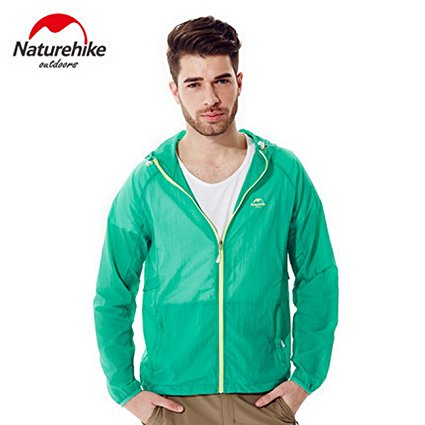 Nature hike Quick Dry Breathable jacket - Electric Green