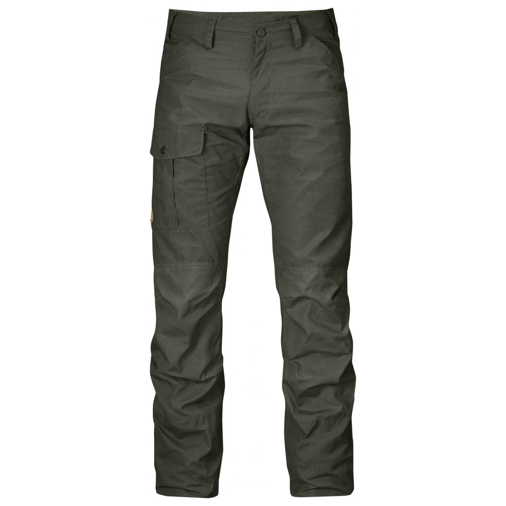 Fjällräven - กางเกงเดินป่าเดินเขารุ่น Nils Trousers (Mountain Grey)