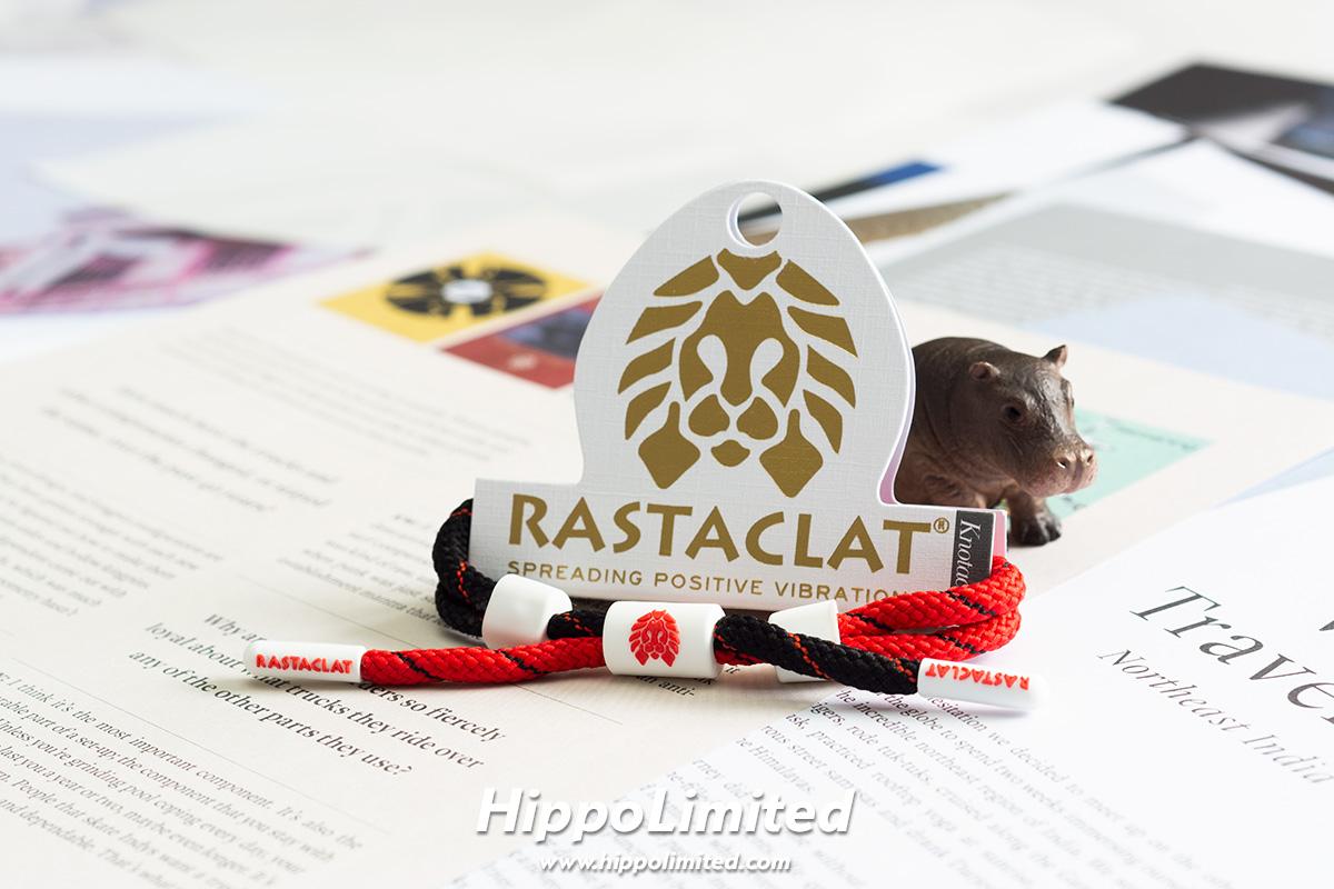 สายรัดข้อมือ Rastaclat Knotaclat - Banned