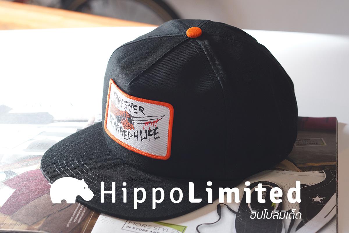 หมวก Thrasher Scarred 4 Life Snapback Hat