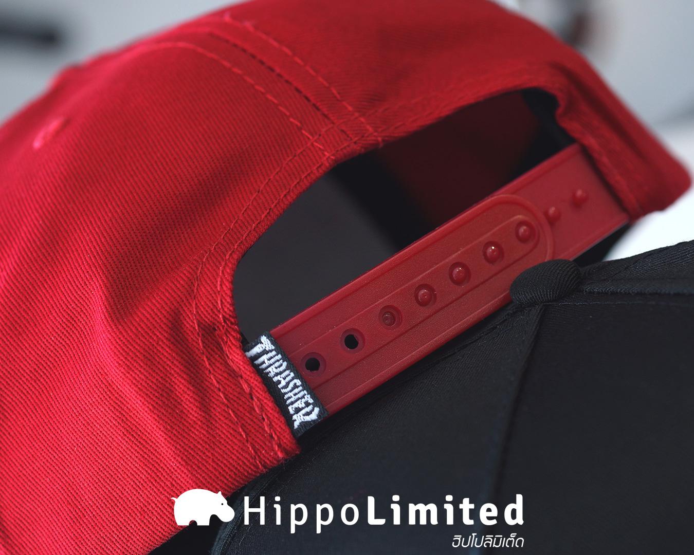 หมวก Thrasher Skate And Destroy Snapback - Blood Red