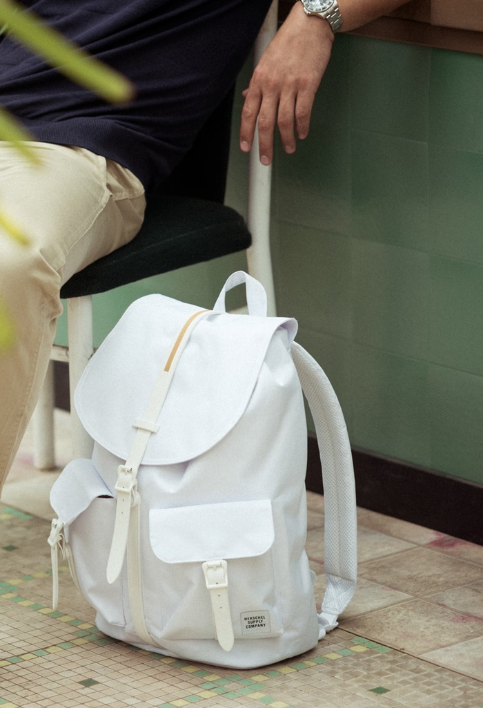 HERSCHEL GUM RUBBER DAWSON BACKPACK - WHITE