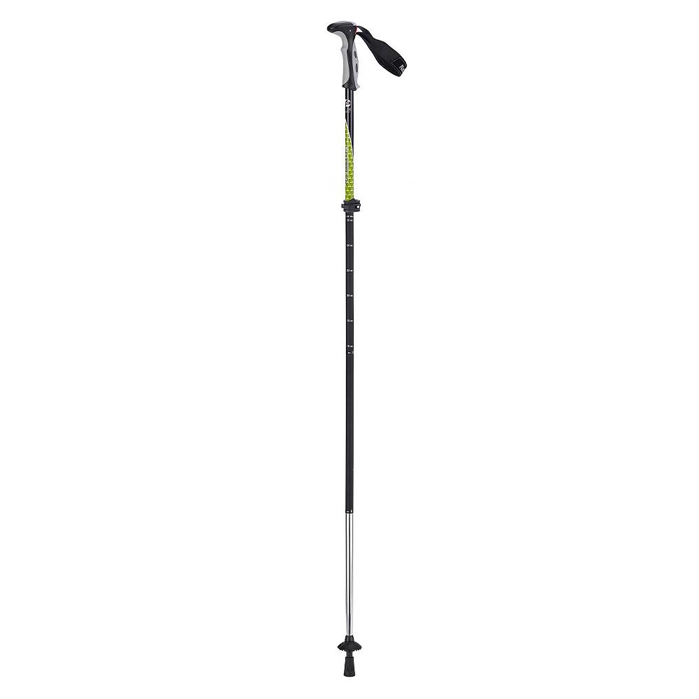 NATURE HIKE - 4 Node Outter Locked Aluminum Trekking Pole (Light Green)