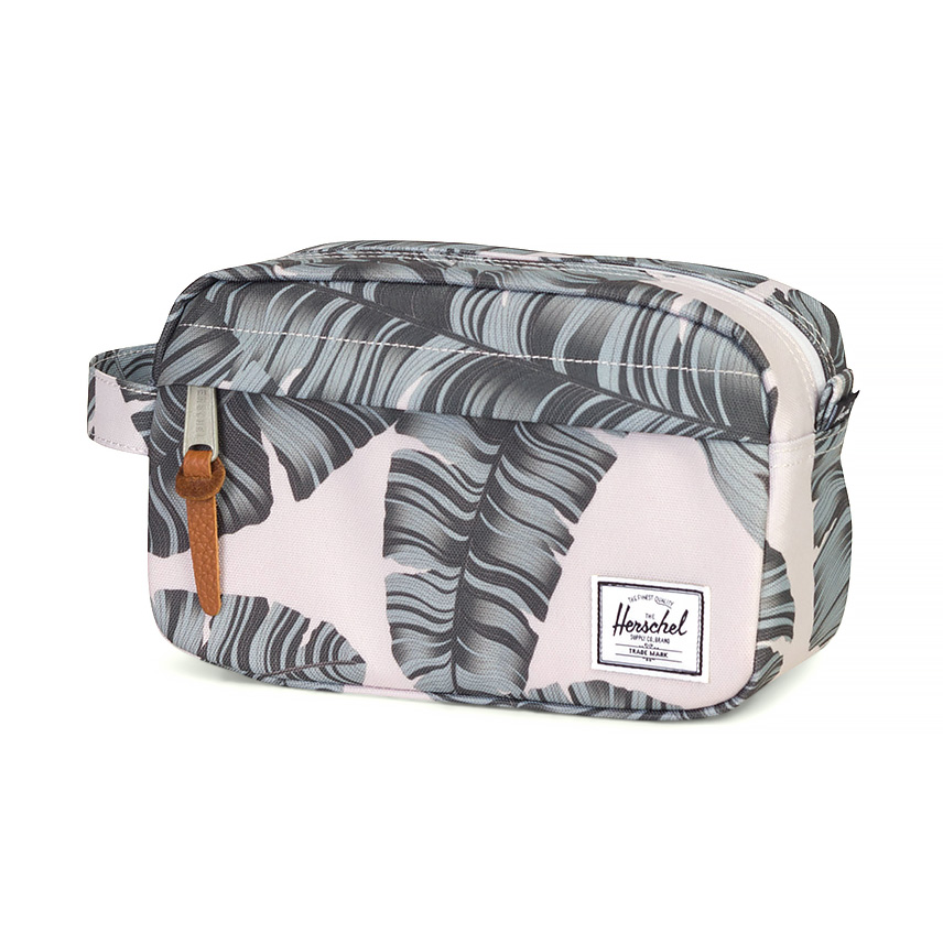 Herschel Chapter Travel Kit | Carry-On - Silver Birch Palm ด้านข้าง