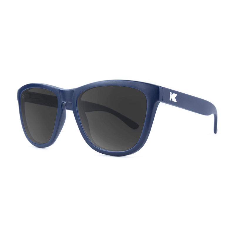 Knockaround Premiums Sunglasses - Navy Blue / Smoke