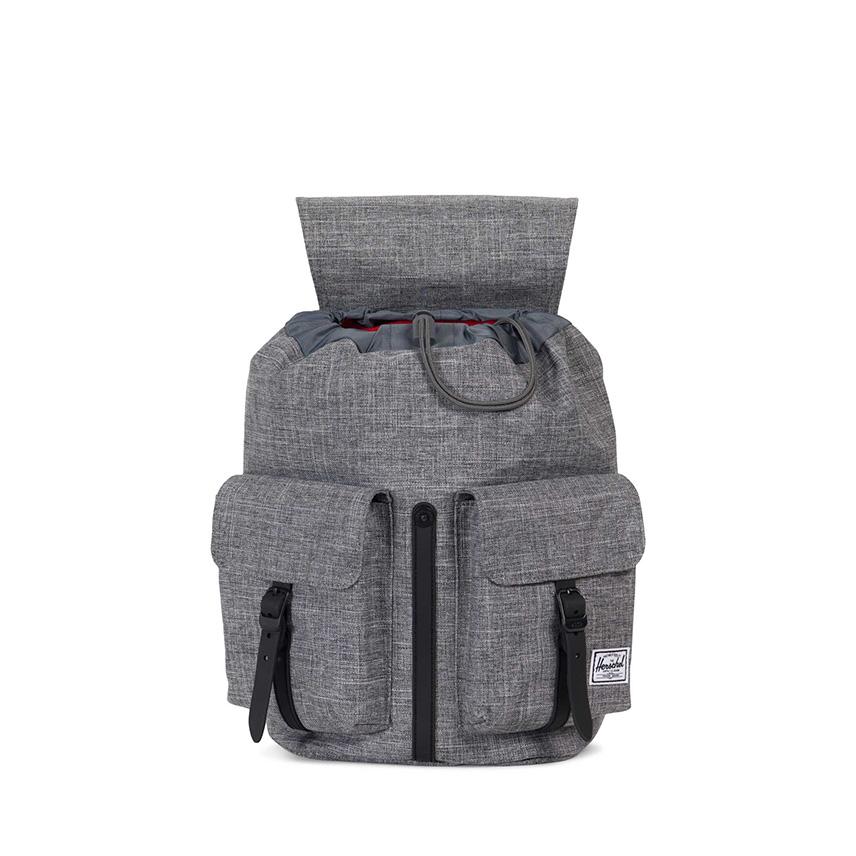 Herschel Dawson Backpack | XS - Raven Crosshatch / Black - ด้านใน