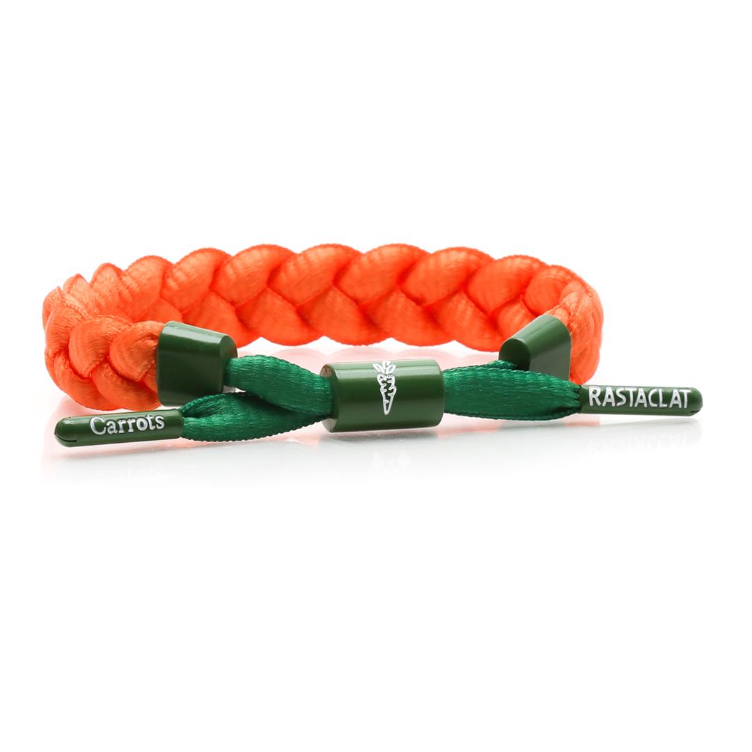 Rastaclat x Carrots - รูปสายข้อมือโลโก้ Carrots