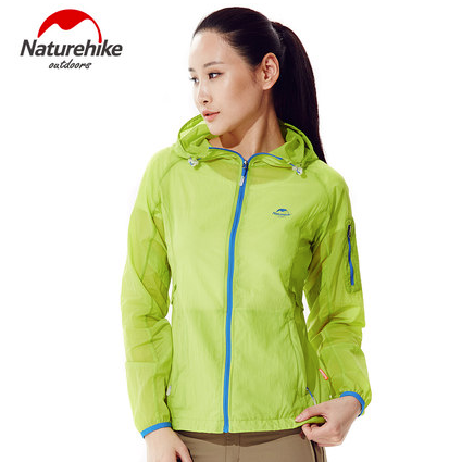 Nature hike Quick Dry Breathable jacket - Yellow Green