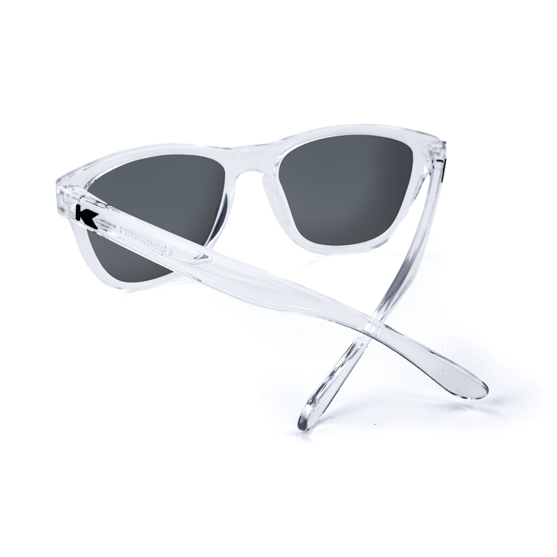 แว่น Knockaround Premiums Sunglasses - Clear Moonshine