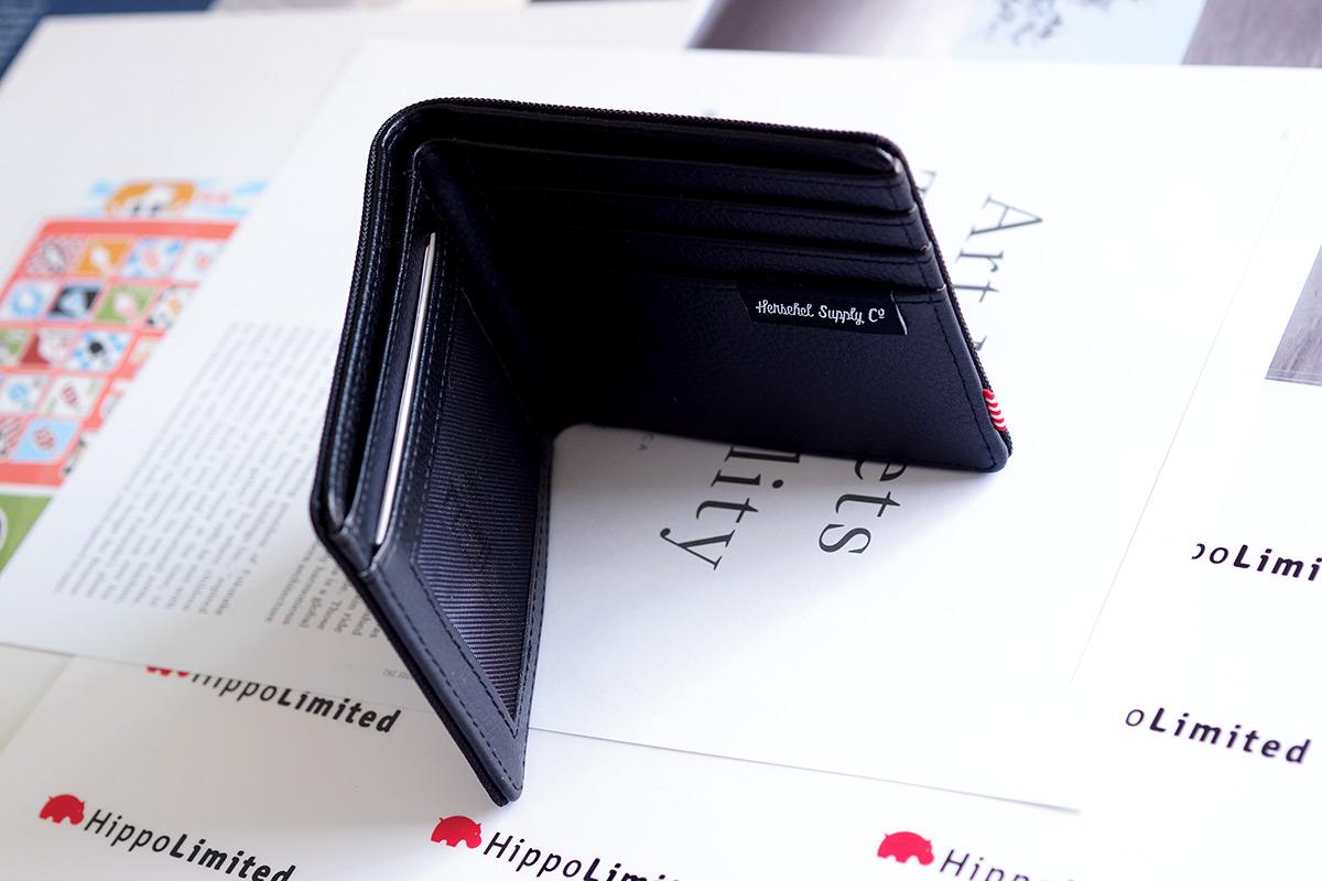 กระเป๋าสตางค์ Herschel Hank Wallet - Black