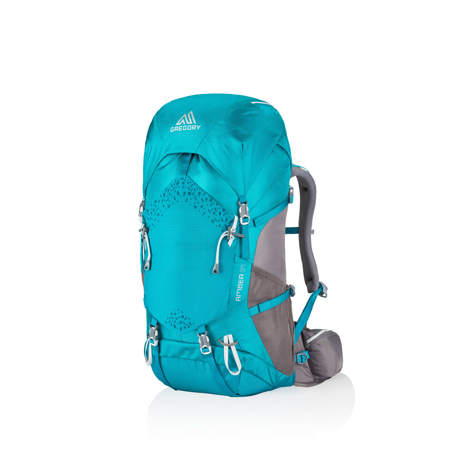 GREGORY Amber V2 44L for Women - Teal Grey
