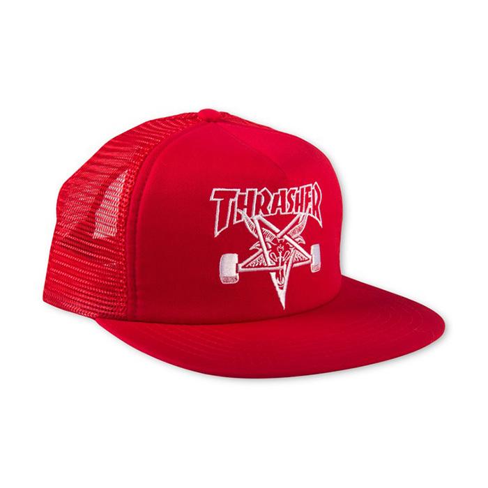 Thrasher Skategoat Mesh Cap - Red