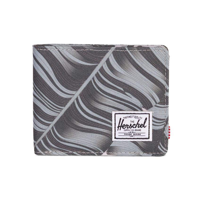 Herschel Roy Wallet - Silver Birch Palm / RFID