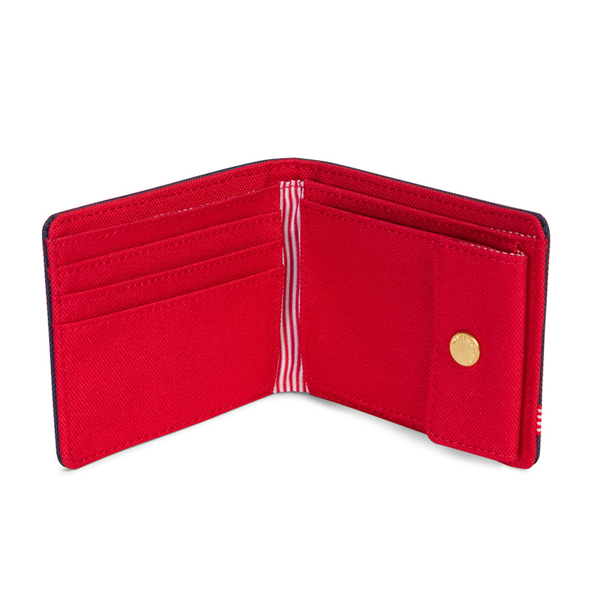 Herschel Roy Wallet | Coin - Navy / Red - ด้านใน