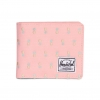 Herschel Roy Wallet - Peach Pineapple / Embroidery / RFID