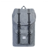 Herschel Little America - Raven Crosshatch / Black Rubber