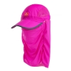 Nature Hike | Folding Quick-Dry Cap with Protective Breathable Mesh (Rosy Red)