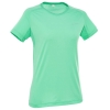 Quechua T-Shirt เดินป่า สำหรับผู้หญิง - Green (Size S)