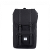 Herschel Little America - Black / Black Synthetic Leather