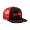 Thrasher Logo Mesh Cap - Black / Red